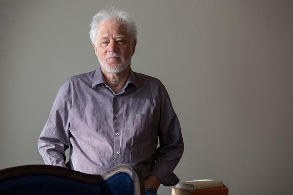 Novelist and poet Michael Ondaatje