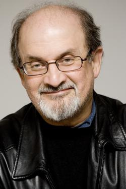 novelist Salman Rushdie