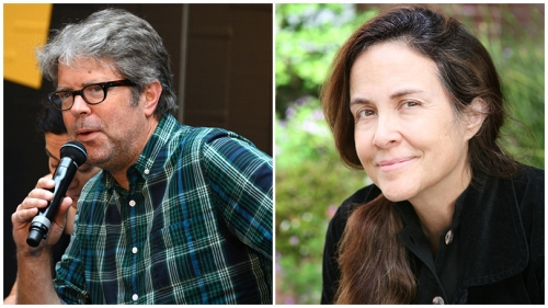 Jonathan Franzen and Naomi Shahib Nye
