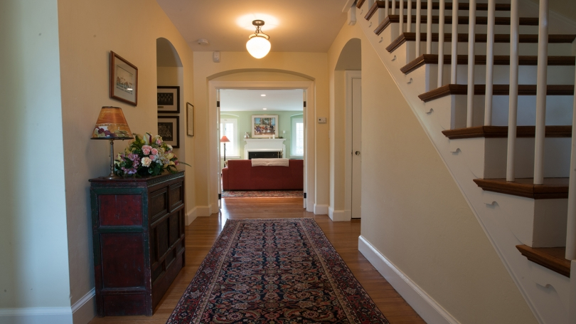 Montgomery House downstairs hallway