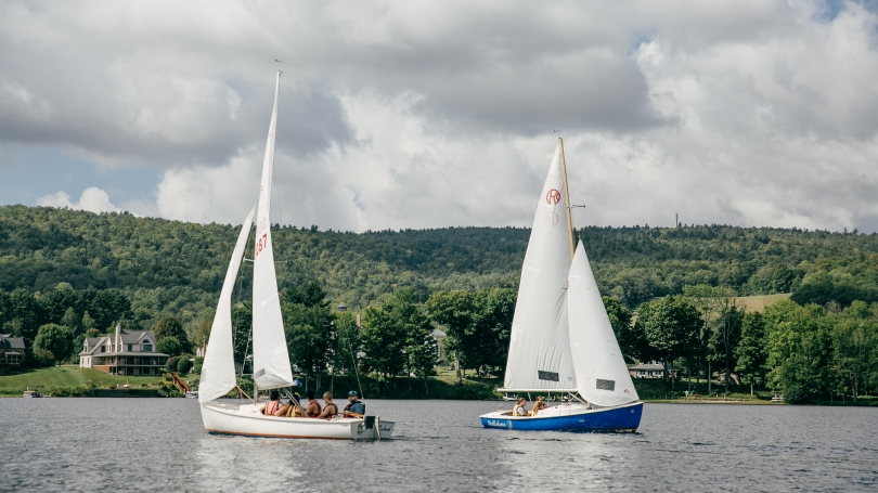 Sailing the Connecticut River