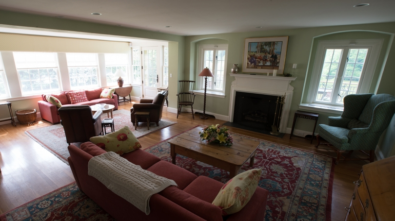 Montgomery House living room