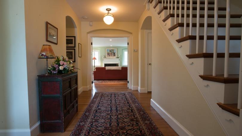 Montgomery House downstairs hallway